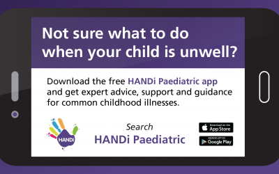 If your child is unwell, consult HANDi this winter