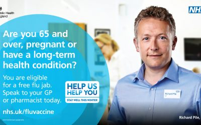 Don't put it off – it's not too late to get your flu jab