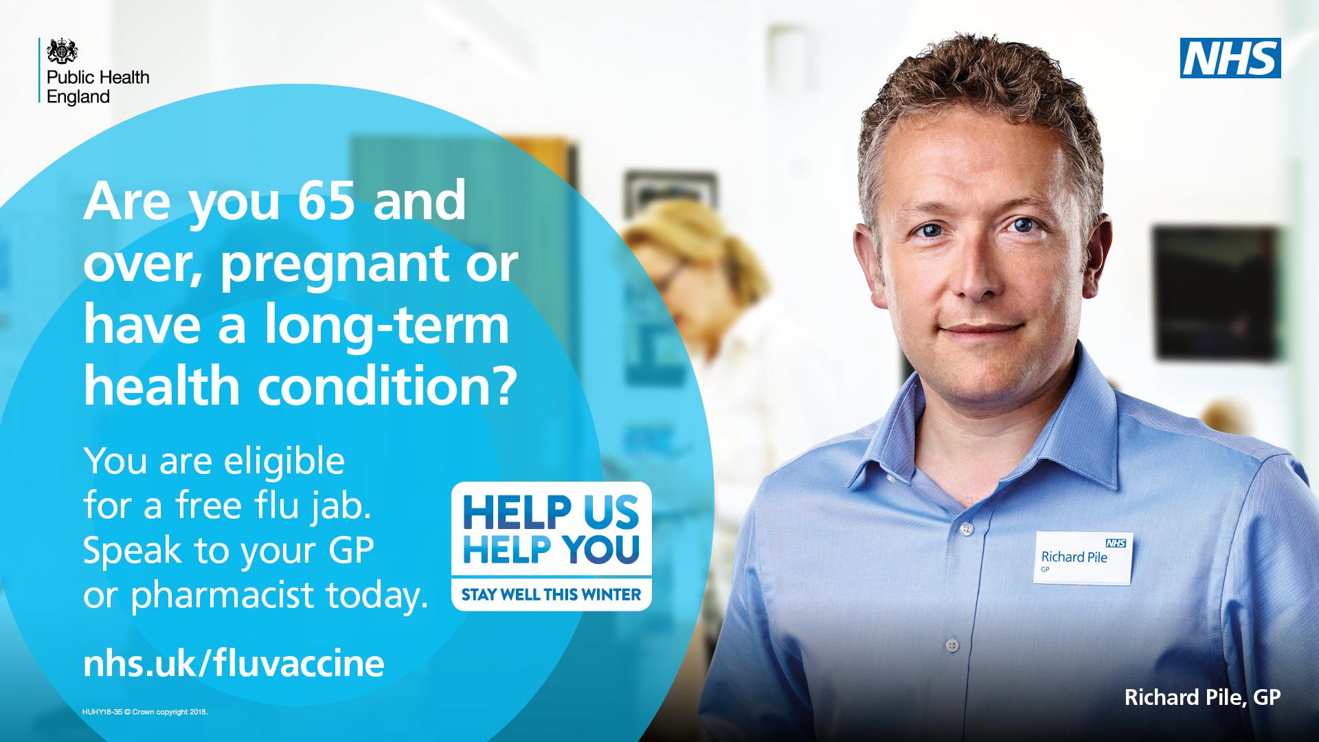 Don't put it off – it's not too late to get your flu jab