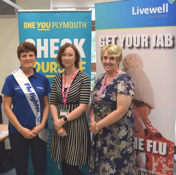 Livewell Southwest shortlisted for national Flu Fighter award