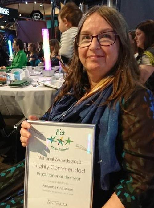 Plymouth healthcare worker wins national award for supporting new mums and babies