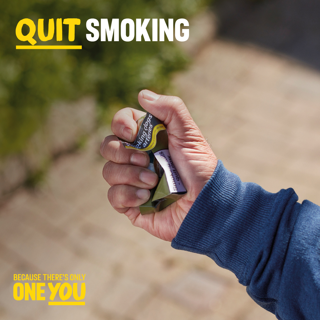 Livewell Southwest celebrates 1,100 quitters for No Smoking Day