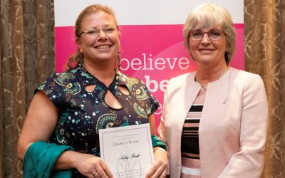 Community nurse awarded prestigious title in recognition of her dedication to care