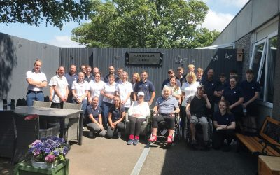 New lease of life for Plym Neuro Garden thanks to Babcock apprentices