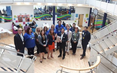 Success as first business reaches Bronze Award in Wellbeing at Work Scheme