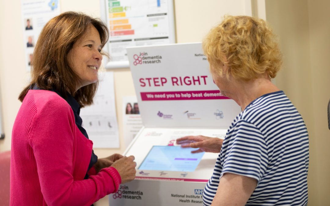Livewell leads the way in promoting Dementia research tool