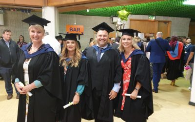 Day of celebrations for Livewell's amazing graduates