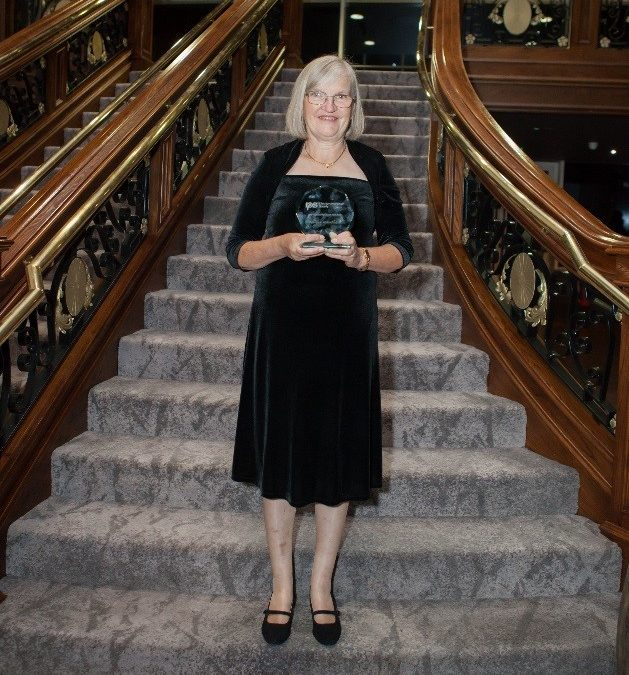 Livewell nurse wins national award for infection prevention work
