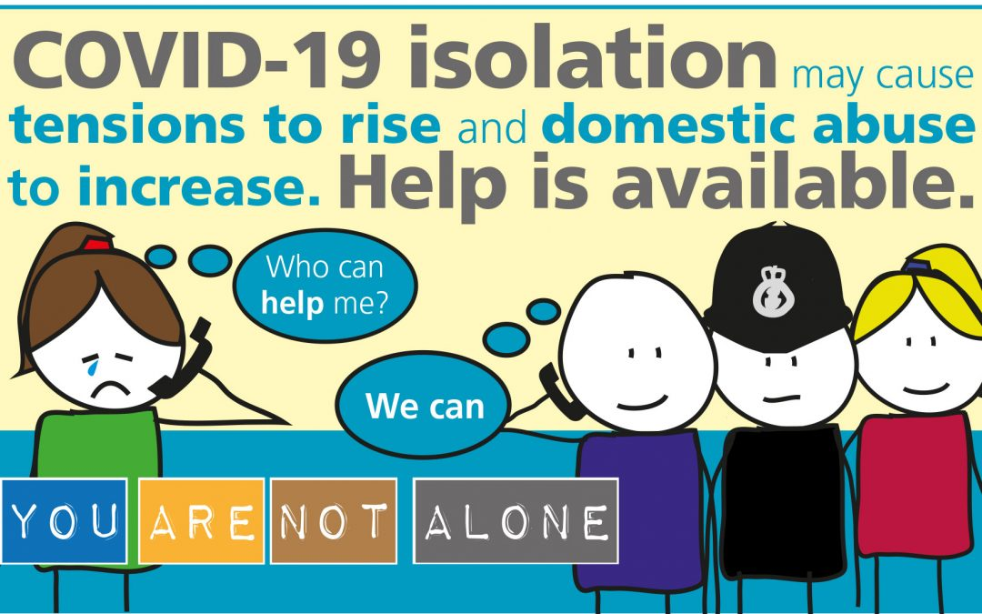 Domestic abuse – support available during COVID-19