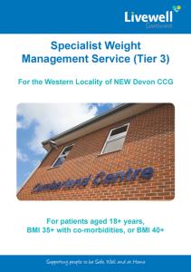 tier 3 specialist weight management service