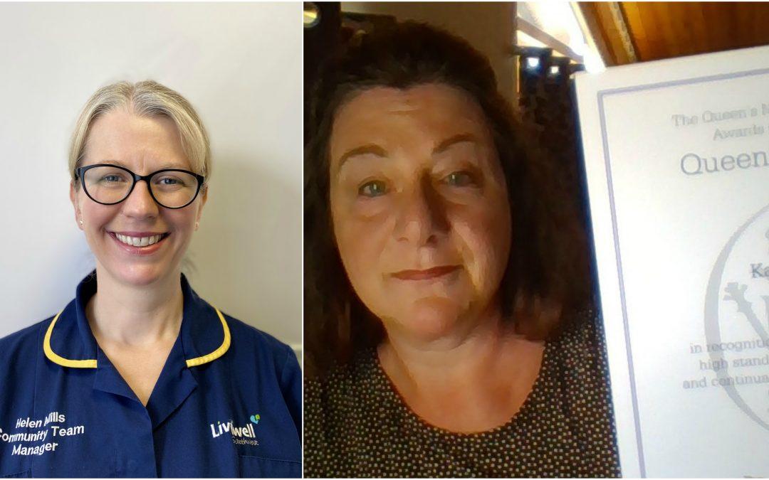 Community nurses awarded coveted title