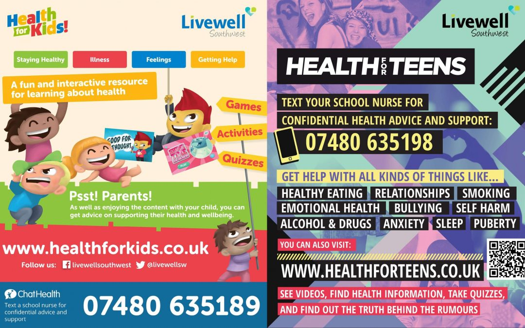 Livewell Southwest launch two unique health websites for children and young people
