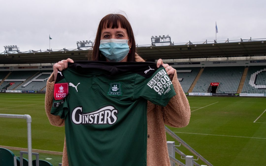 Livewell Southwest's First Response number to feature on Argyle kit thanks to generous donation