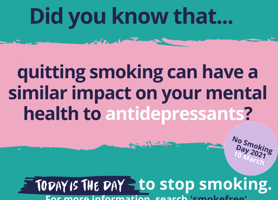 Start your quit attempt this No Smoking Day to improve your mental health
