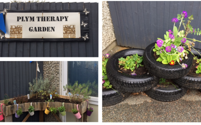 Plym Neuro Rehabilitation Unit's therapy garden is helping people achieve their rehabilitation goals