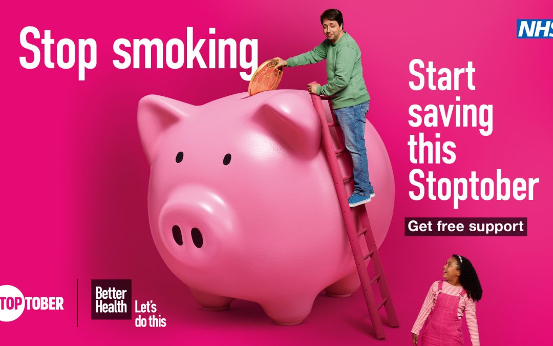 Smokers encouraged to take part in Stoptober as they report smoking more during the pandemic